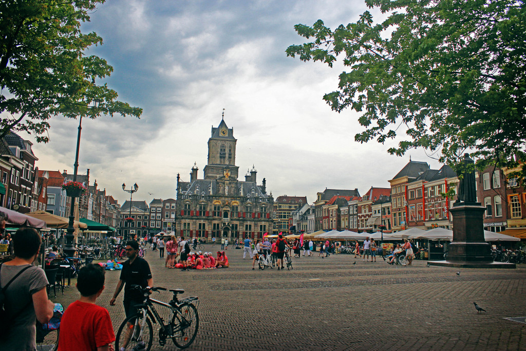The main square of Delft
