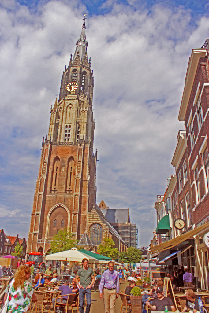 The Old Church, Delft.