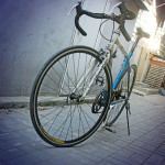 Beijing Bike, Blue Steal - Inanimate Inspirational Each Miler