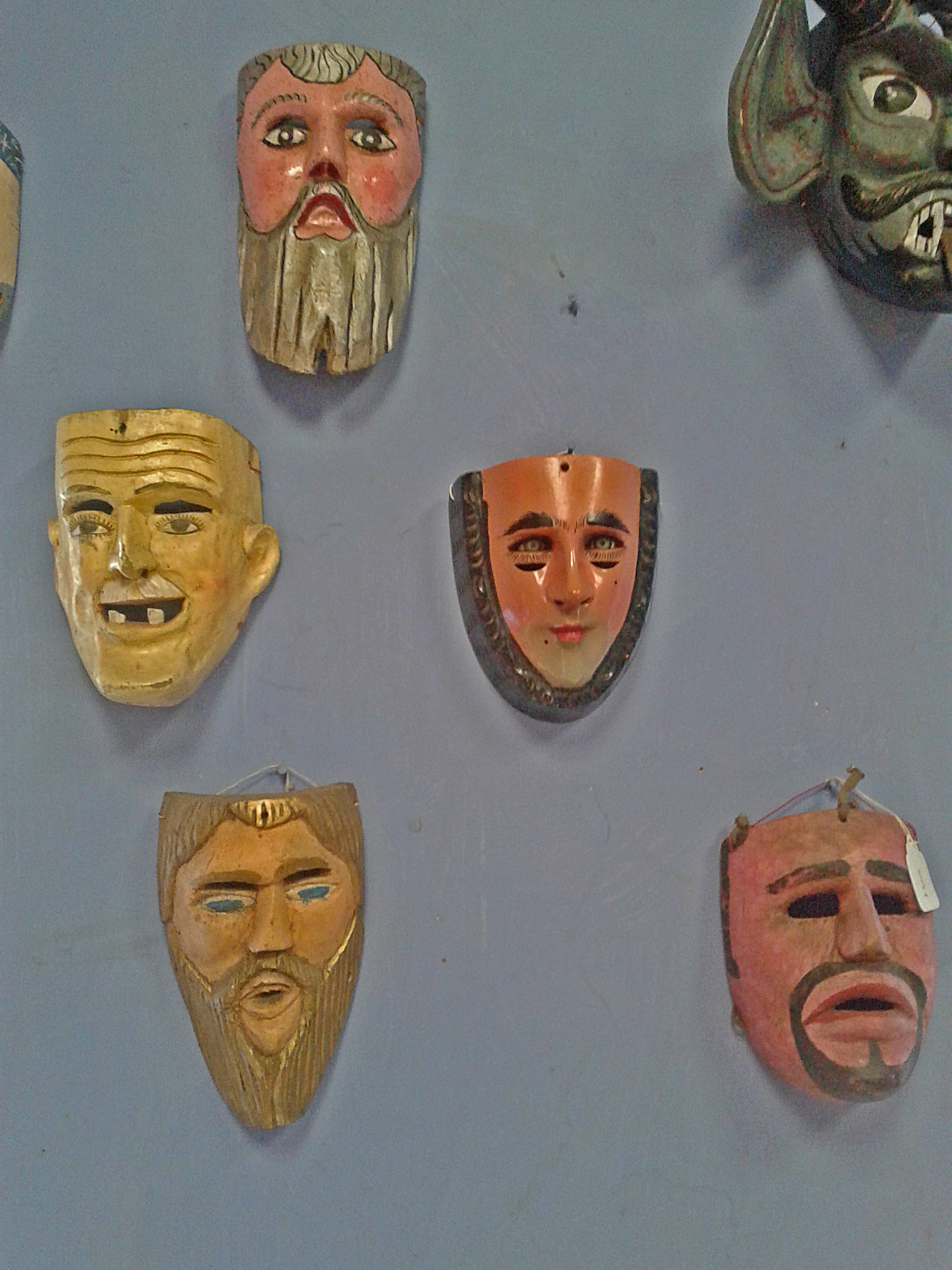 Traditional ceremonial mask