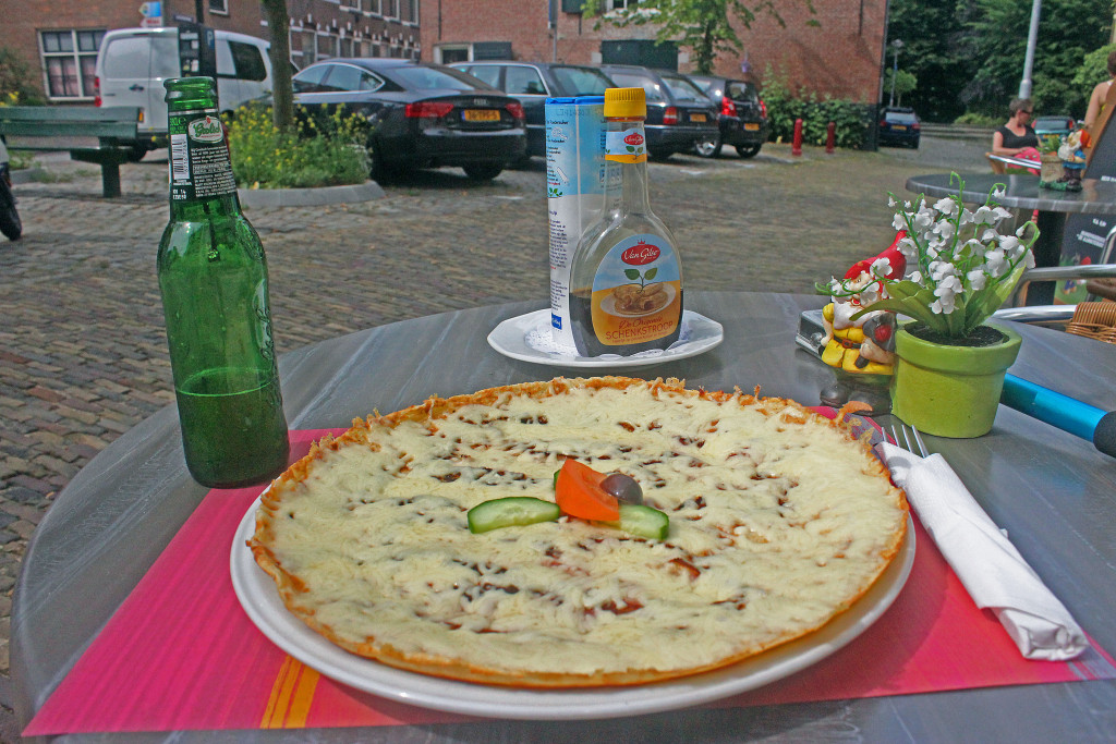 Pancake in Middelburg, Netherlands