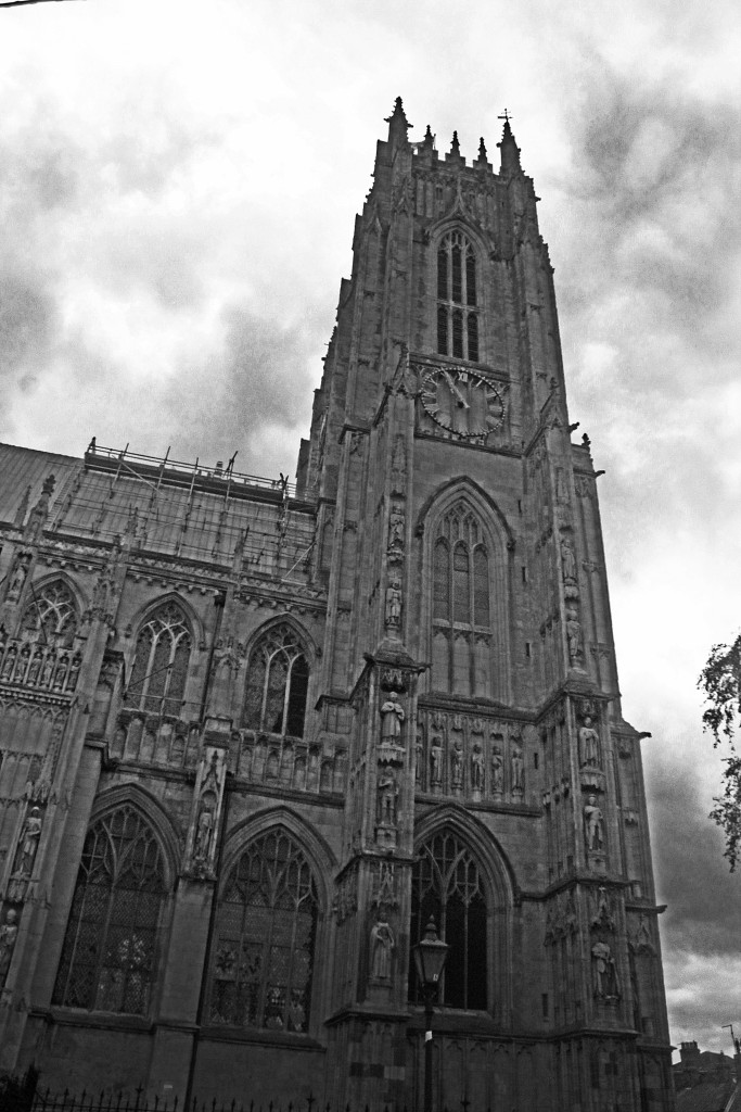 The minster of Beverly, England.