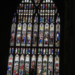 Glass of the Minster of Beverly.