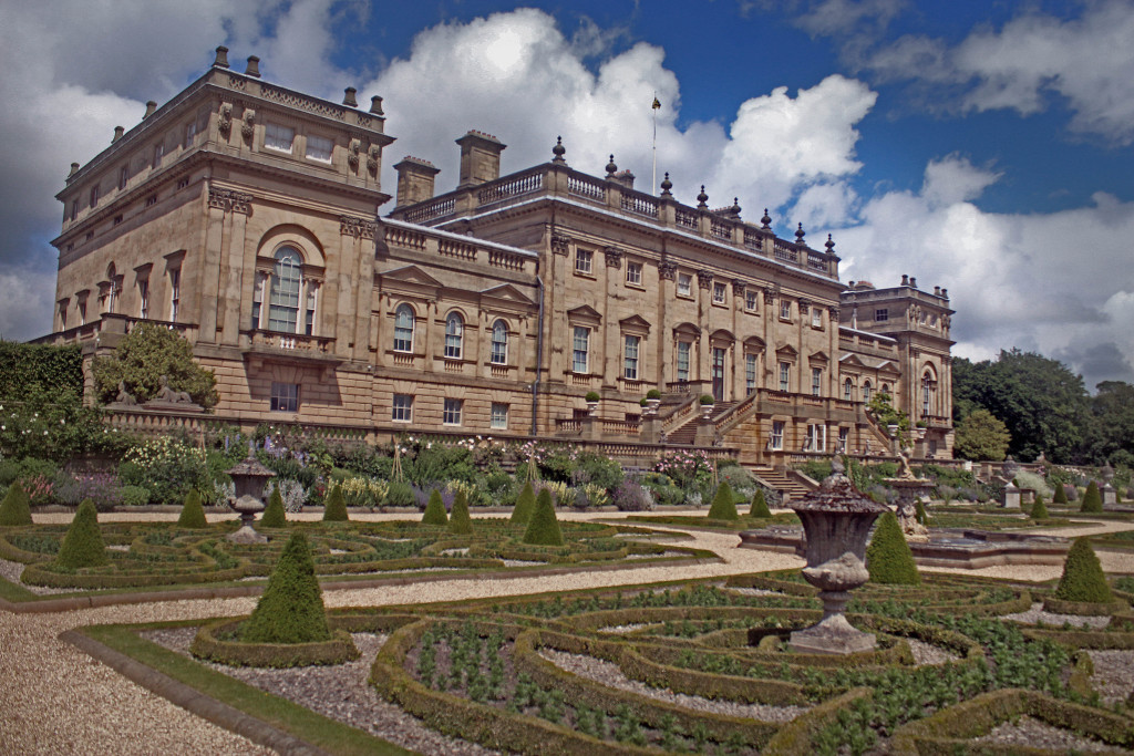 Back of Harewood House