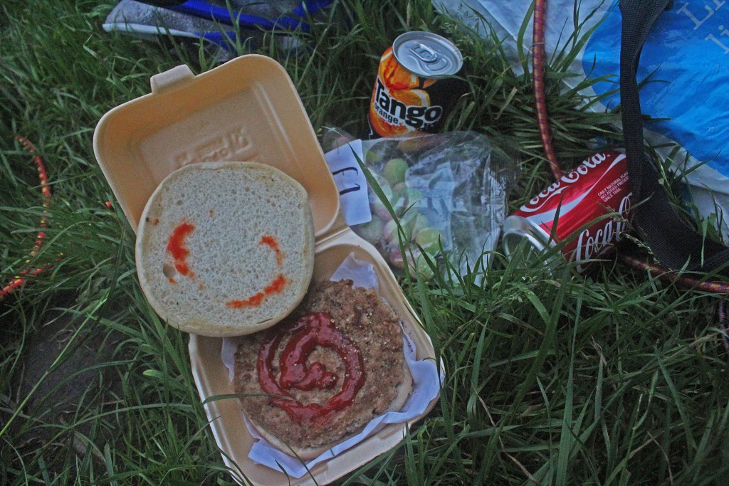 Camp Food, near Halifax, UK