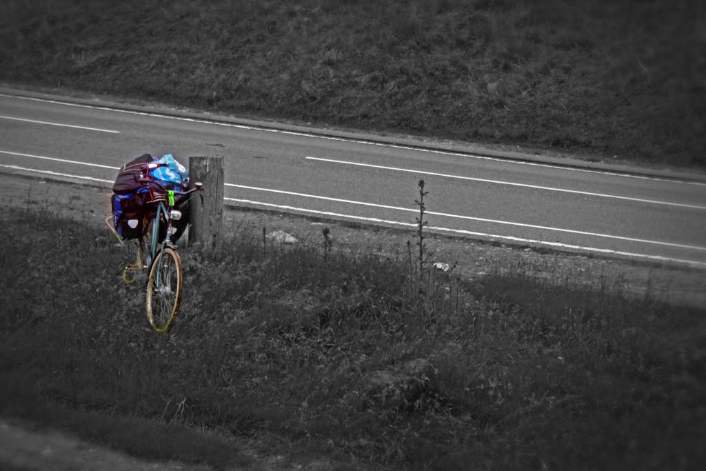 Dutch bike in Pennines