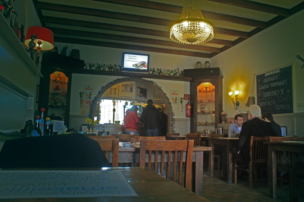 Inside of Princenhoff, Pancake House and restaurant.