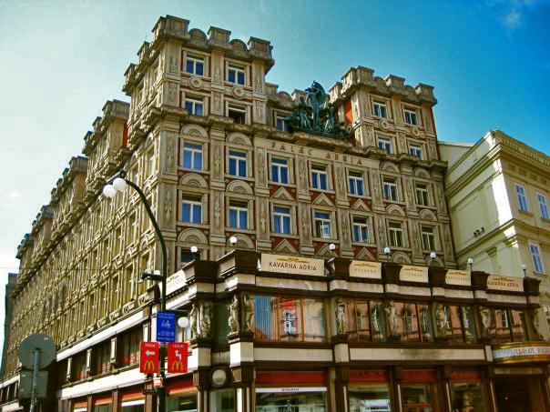 Adrian Palace, Prague.