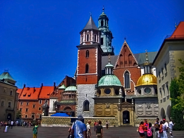 Wawel Palace Cathedral, Krakow.