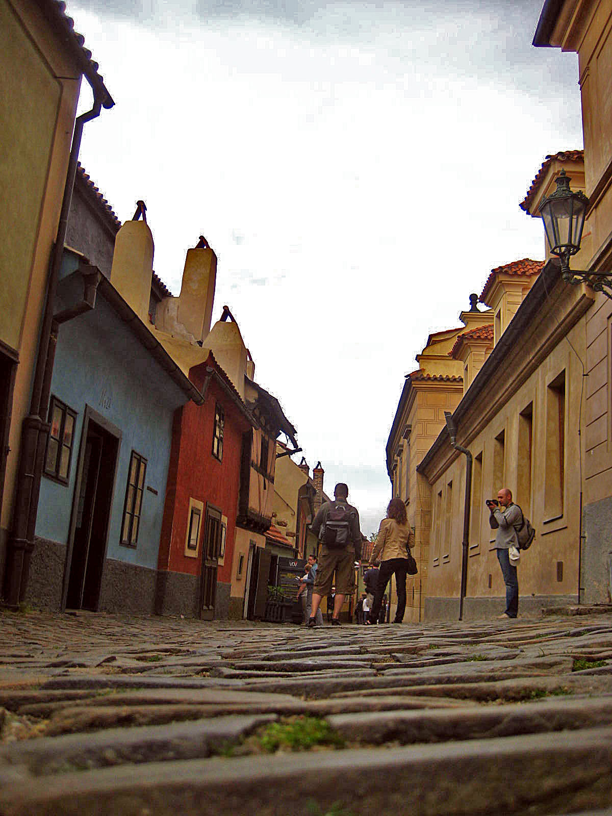 Golden Lane, part of Prague Castle
