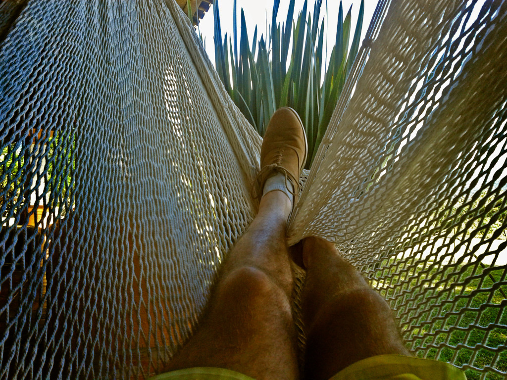 Hammocks are cool.