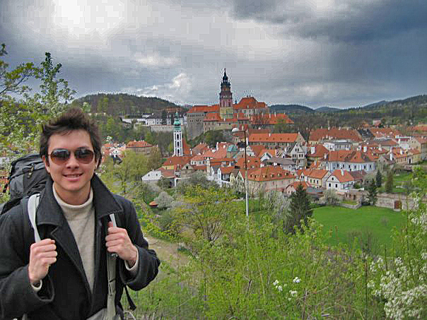 Adventures through Czech Lands - walking through the mountains around Czesky Krumlov.