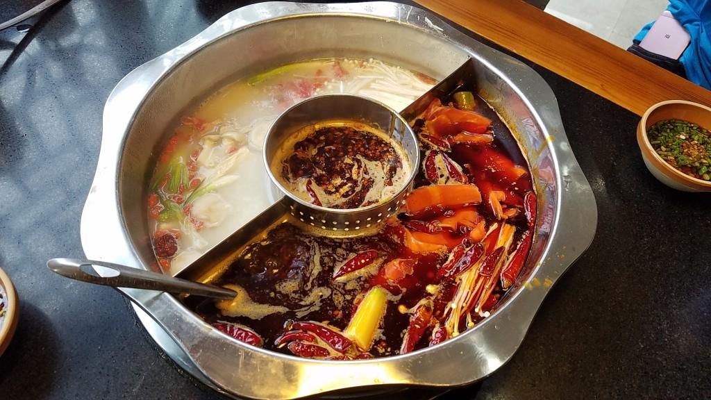 Delicious hot pot